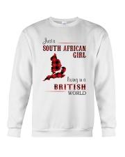SOUTH AFRICAN GIRL LIVING IN BRITISH WORLD Crewneck Sweatshirt thumbnail