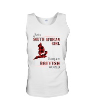 SOUTH AFRICAN GIRL LIVING IN BRITISH WORLD Unisex Tank thumbnail