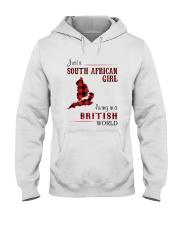 SOUTH AFRICAN GIRL LIVING IN BRITISH WORLD Hooded Sweatshirt thumbnail