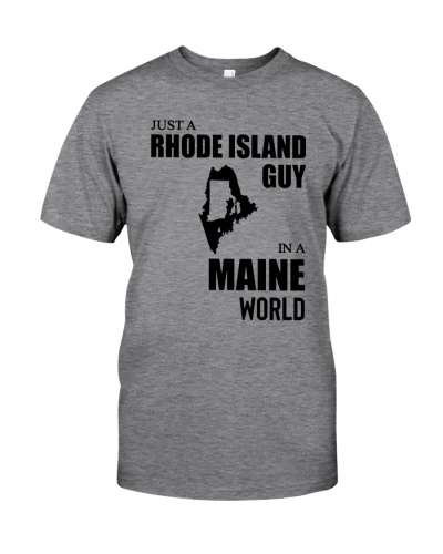 JUST A RHODE ISLAND GUY IN A MAINE WORLD