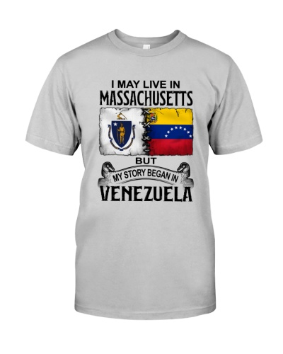 LIVE IN MASSACHUSETTS BEGAN IN VENEZUELA