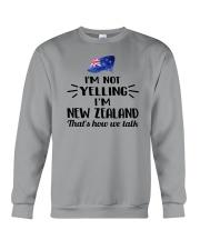 I'M NOT YELLING I'M NEW ZEALAND Crewneck Sweatshirt thumbnail