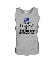 I'M NOT YELLING I'M NEW ZEALAND Unisex Tank thumbnail