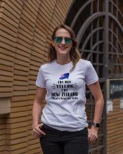 I'M NOT YELLING I'M NEW ZEALAND Ladies T-Shirt lifestyle-women-crewneck-front-2