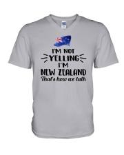 I'M NOT YELLING I'M NEW ZEALAND V-Neck T-Shirt thumbnail