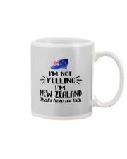 I'M NOT YELLING I'M NEW ZEALAND Mug thumbnail