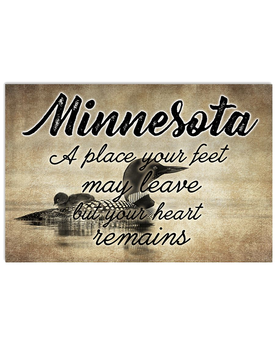MINNESOTA A PLACE YOUR HEART REMAINS 24x16 Poster