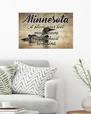 MINNESOTA A PLACE YOUR HEART REMAINS 24x16 Poster poster-landscape-24x16-lifestyle-01
