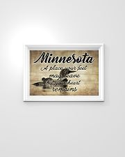 MINNESOTA A PLACE YOUR HEART REMAINS 24x16 Poster poster-landscape-24x16-lifestyle-02