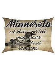 MINNESOTA A PLACE YOUR HEART REMAINS Rectangular Pillowcase thumbnail