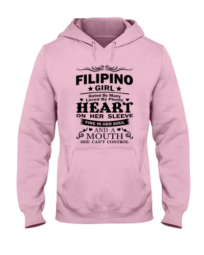 FILIPINO GIRL HATED BY MANY LOVED BY PLENTY
