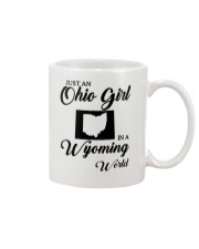 JUST AN OHIO GIRL IN A WYOMING WORLD Mug thumbnail