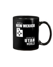 JUST A NEW MEXICO GUY LIVING IN UTAH WORLD Mug tile