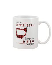 IOWA GIRL LIVING IN OHIO WORLD Mug thumbnail