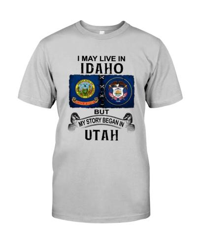 LIVE IN IDAHO BEGAN IN UTAH