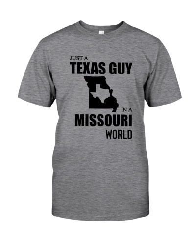 JUST A TEXAS GUY IN A MISSOURI WORLD