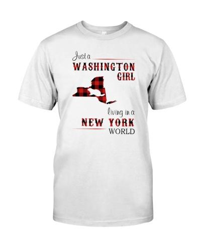 WASHINGTON GIRL LIVING IN NEW YORK WORLD
