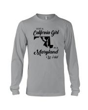 JUST A CALIFORNIA GIRL IN A MARYLAND WORLD Long Sleeve Tee thumbnail