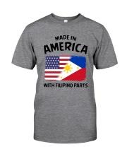 AMERICA WITH FILIPINO PARTS Classic T-Shirt thumbnail