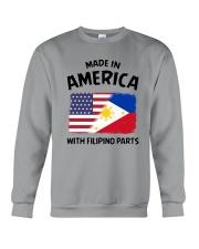 AMERICA WITH FILIPINO PARTS Crewneck Sweatshirt thumbnail