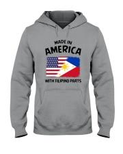 AMERICA WITH FILIPINO PARTS Hooded Sweatshirt thumbnail