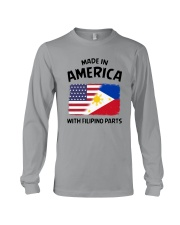 AMERICA WITH FILIPINO PARTS Long Sleeve Tee thumbnail