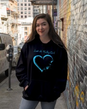 JUST A PHILLY GIRL Hooded Sweatshirt lifestyle-unisex-hoodie-front-1
