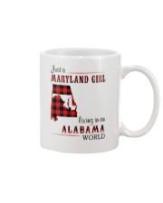 MARYLAND GIRL LIVING IN ALABAMA WORLD Mug thumbnail