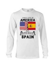 LIVE IN AMERICA BEGAN IN SPAIN ROOT  Long Sleeve Tee thumbnail