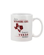 WYOMING GIRL LIVING IN TEXAS WORLD Mug thumbnail