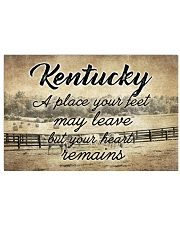 KENTUCKY PLACE YOUR HEART REMAINS 24x16 Poster front