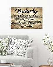 KENTUCKY PLACE YOUR HEART REMAINS 24x16 Poster poster-landscape-24x16-lifestyle-01