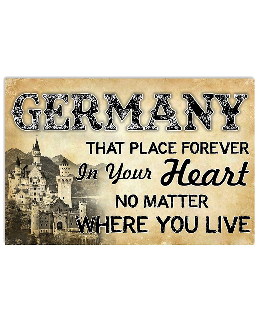 GERMANY THAT PLACE FOREVER IN YOUR HEART 17x11 Poster