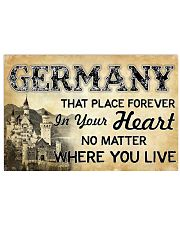 GERMANY THAT PLACE FOREVER IN YOUR HEART 17x11 Poster front