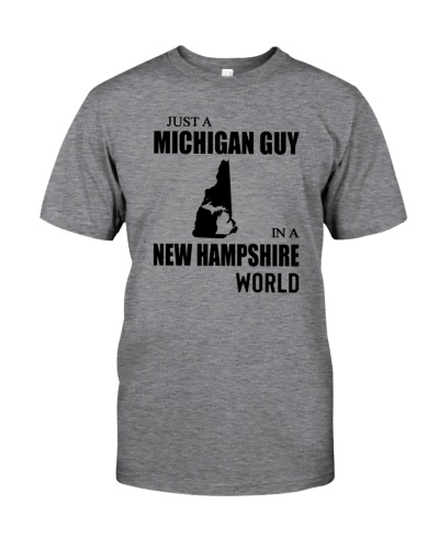 JUST A MICHIGAN GUY IN A NEW HAMPSHIRE WORLD