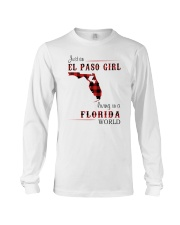 EL PASO GIRL LIVING IN FLORIDA WORLD Long Sleeve Tee tile