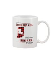LOUISIANA GIRL LIVING IN INDIANA WORLD Mug thumbnail