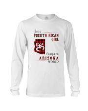 PUERTO RICAN GIRL LIVING IN ARIZONA WORLD Long Sleeve Tee thumbnail