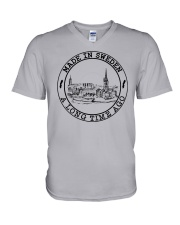 MADE IN SWEDEN A LONG TIME AGO V-Neck T-Shirt thumbnail