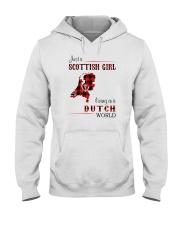 SCOTTISH GIRL LIVING IN DUTCH WORLD Hooded Sweatshirt thumbnail