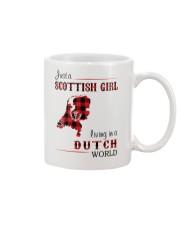 SCOTTISH GIRL LIVING IN DUTCH WORLD Mug thumbnail