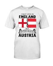 LIVE IN ENGLAND BEGAN IN AUSTRIA ROOT WOMEN Classic T-Shirt tile