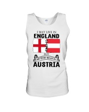 LIVE IN ENGLAND BEGAN IN AUSTRIA ROOT WOMEN Unisex Tank thumbnail