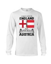 LIVE IN ENGLAND BEGAN IN AUSTRIA ROOT WOMEN Long Sleeve Tee thumbnail