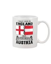 LIVE IN ENGLAND BEGAN IN AUSTRIA ROOT WOMEN Mug thumbnail