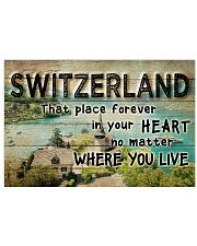 SWITZERLAND THAT PLACE FOREVER IN YOUR HEART 17x11 Poster front