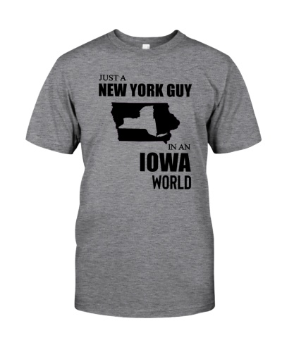JUST A NEW YORK GUY IN AN IOWA WORLD