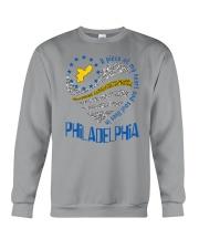 MY HEART AND SOUL LIVES IN PHILADELPHIA Crewneck Sweatshirt thumbnail