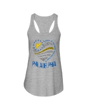 MY HEART AND SOUL LIVES IN PHILADELPHIA Ladies Flowy Tank thumbnail