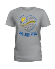 MY HEART AND SOUL LIVES IN PHILADELPHIA Ladies T-Shirt tile